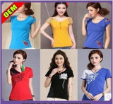 Fashion Sexy Printed T-Shirt for Women (W205)
