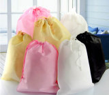 Heat Sealing Non Woven Bag with Nylon Drawstring
