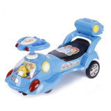 New PP Plastic Baby Toys Swing Car with Rear Box
