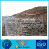 Gabion Rectangular Wire Mesh Box PVC Sleeve