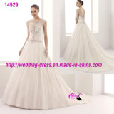 Charming Impeccable Pure Beading Gowns Dress with V-Neckline