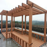 Garden Using Wood Plastic Composite Gazebo