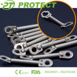Orthodontic Springs with Small Rings and Big Rings