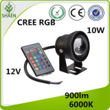 CREE RGB LED Motorcycle Project Head Light White