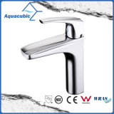 Modern Brass European Single Hangle Bathroom Sink Faucet (AF0464-6C)