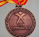 Sport Copper Medal with 2c Ribbon
