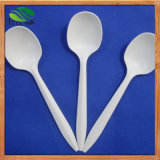 Custom 6 Inch Disposable Biodegradable Coffee Spoon with Cornstarch