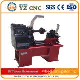 Hydraulic Pressure Rim Straightening Machine with Lathe