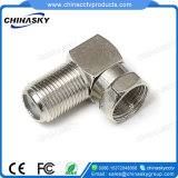 CCTV Right Angle F Female to F Male Connector (CT5074Z)