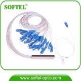 FTTH 1X16 Optical PLC Splitter with Sc/Upc Connectors