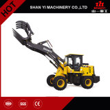 Construction Equipment Multifunctional Small Wheel Loader Forklift 4X4 Drive