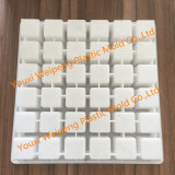 40*40*40mm Concrete Mould (PDK4040-YL) for Producing Reinforced Cushion Block/ Square Spacers