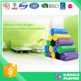 Colored Custom Printed Plastic PE Trash Bags