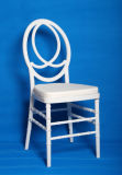 China Cheap White Polycarbonate Resin Phoenix Chair with Cushion