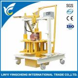 Qt40-3c Manual Mobile Concrete Block Machine with Cheap Price