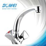 Double Handle Cheaper Brass Body Ceramicn Cartridge Kitchen Faucet (BM57705)