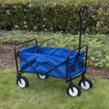 Collapsible Folding Beach Wagon Utility Garden Cart with En71