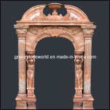 Carved Marble Doorway, Stone Door Surrounds (GS-D-002)