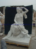 Women with Baby Marble Statue Marble Sculpture Figure Sculpture