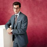 100%Wool Fabric Bespoke Men′s Business