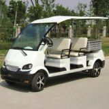CE 4 Seats Electric Utility Transfer Vehicle with Cargo Box (Du-M8)
