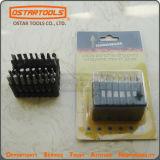 """Magnetic 3/8"""" Hex Socket 1/4"""" Shank Spanner Nut Setter Driver Bit Set"""