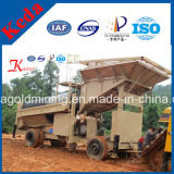 Best Price Mobile Screen Gold Mining Trommel Plant