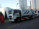 HOWO 4X2 Garbage Truck 16m3 Compressor Garbage Truck