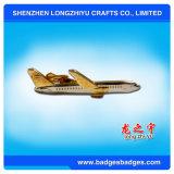 OEM/ODM Service Custom Silver Airplane Tie Bar / Tie Pin / Metal Tie Clip