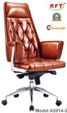 Luxury Leather Executive Chair Manager Chair Boss Chair Furniture (A2014-3)