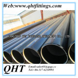 Black Varnishing Blveled Ends Rounds Thick Wall Seamless Pipe