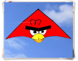 New High Quality 2m Power Cartoon Kite /Bird Kite with Kite Handle and Line Good Flying