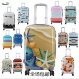 """Picture Pattern Trolley Luggage Travel Luggage Bag 20"""" Luggage Set"""