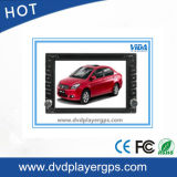 6.2 Inch Universal 2-DIN Car Audio with GPS/Bt/iPod
