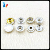 Nickle-Free Silver Finish Metal Brass Press Snap Button Fastener