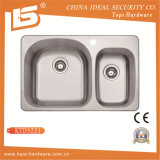 Stainless Steel Topmount Sink of Ktd3221 with Cupc, Canadian Sink