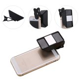 Mini Lens Take 3D Photo or Video Stereoscopic Camera Lens for Cellphone iPad Tablet PC