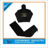 Wholesale Custom Embroidered Velvet Tracksuit for Women