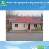 Sound Heat Insulated EPS&Cement Sandwich Panel Prefab Glass House
