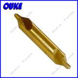 Tin-Coated DIN333b HSS Center Drill Bit