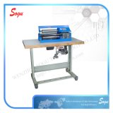 Convinent Shoes Leather Gluing Machine for Shoe Upper Gluing