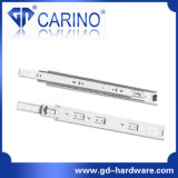 (4203) Top Quality Telescopic Drawer Channel /3-Fold Steel Ball Bearing Slide