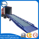 Cantainer Manual Mobile Yard Ramp for Loading/Unloading