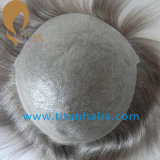 Brazilian Remy Virgin Human Toupee with Thin Skin Base