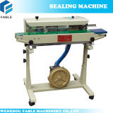 Gas Flushing Potato Chips Continuous Pouch Sealing Machine Dbf- 1000g