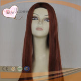 Red Color Stright Long Hair Wig (TP005)
