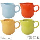 Homestyle Colorful Glaze Stoneware Creamer