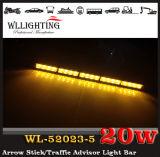 Amber LED Directional Traffic Advisor Strobe Light Bar