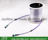 Long Meter Fiber Optic 12cores MPO-MPO Om4 Trunk Patchcord with Drum
