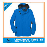 Outdoor Fully Seam-Sealed Color Blocking Waterproof Jackets for Men